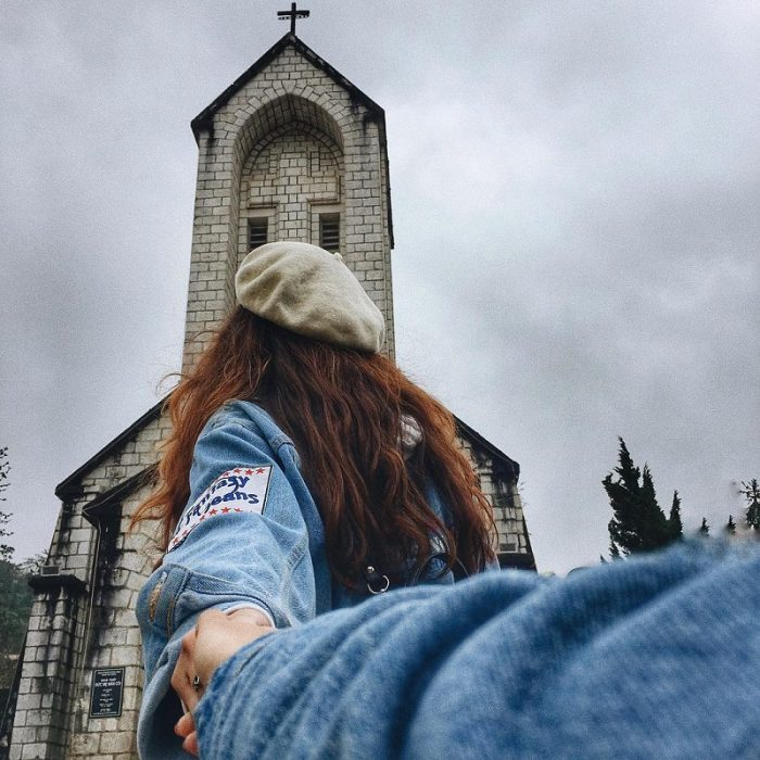 check in nhà thờ đá Sapa