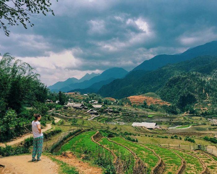 đường đi thung lũng Mường Hoa Sapa