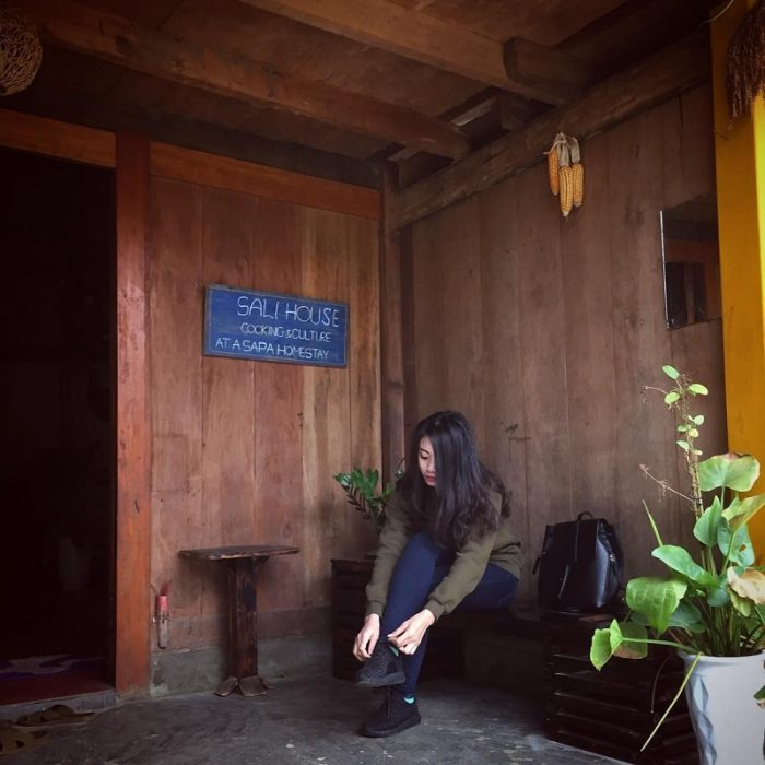 homestay container ở Sapa