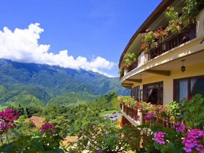 khách sạn view đẹp ở sapa