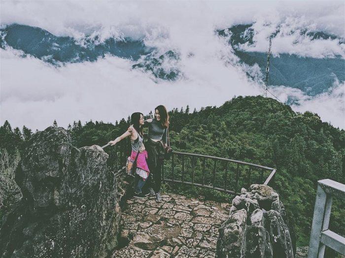 khu du lịch núi hàm rồng Sapa