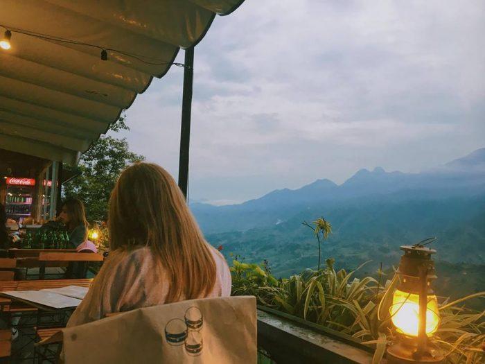 cafe đẹp ở thị trấn sapa