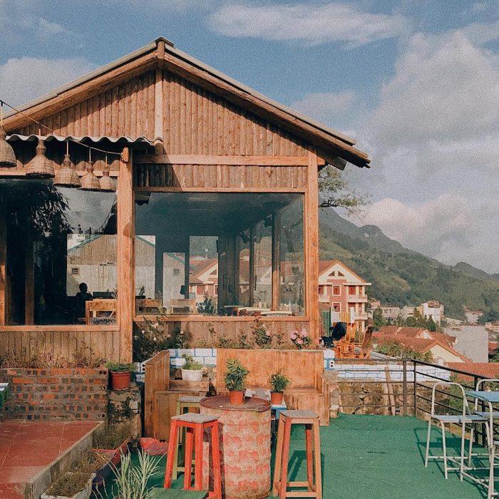 quán cafe thị trấn sapa đẹp