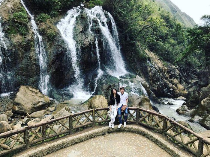 thác Cát Cát ở Sapa