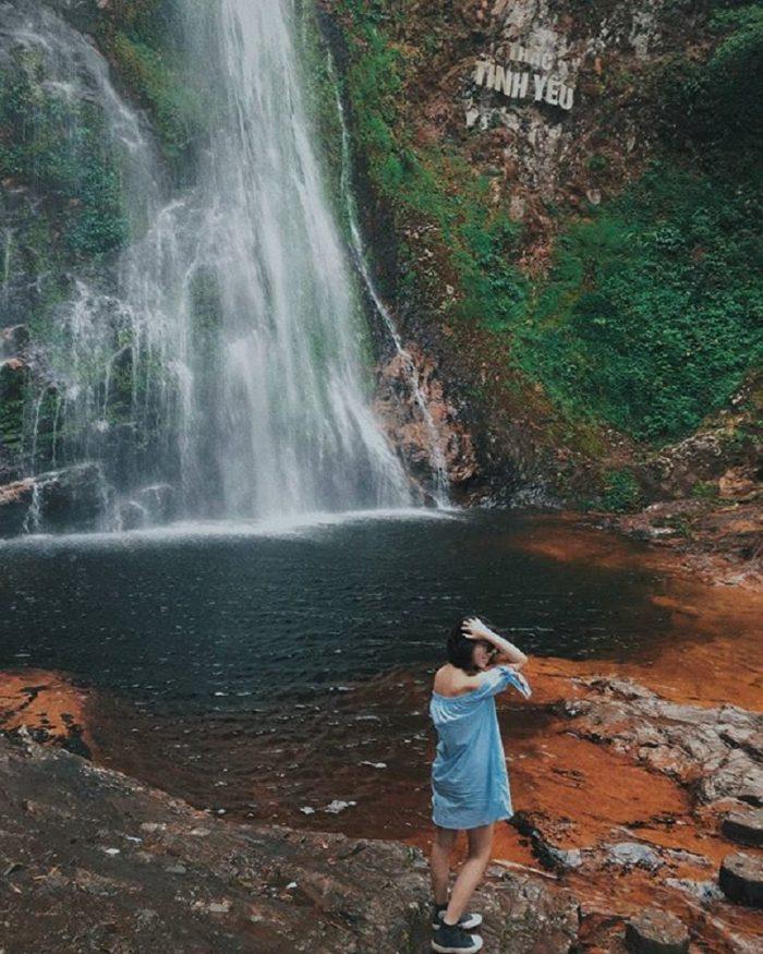 thác Tình yêu ở thị trấn Sapa