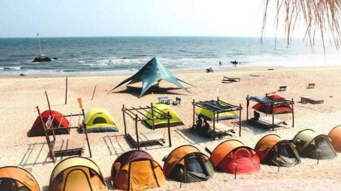 Cắm trại trên Coco Beach