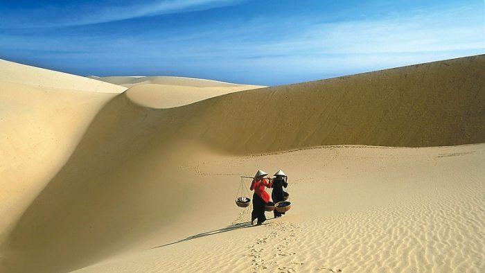 cảnh đẹp đồi cát bình thuận