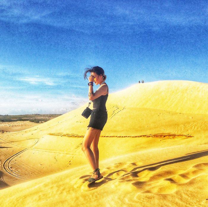 đi phượt đồi cát bình thuận