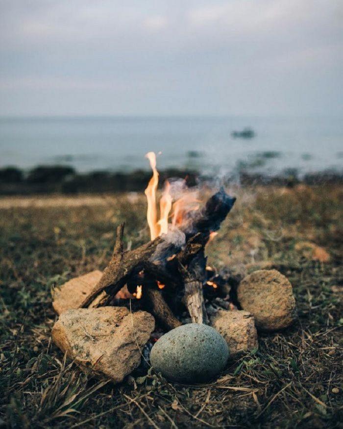 cắm trại tại mũi yến bình thuận