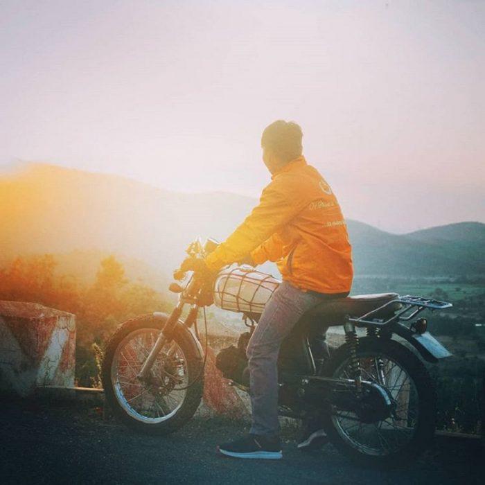 phượt xe máy đến cổ thạch bình thuận